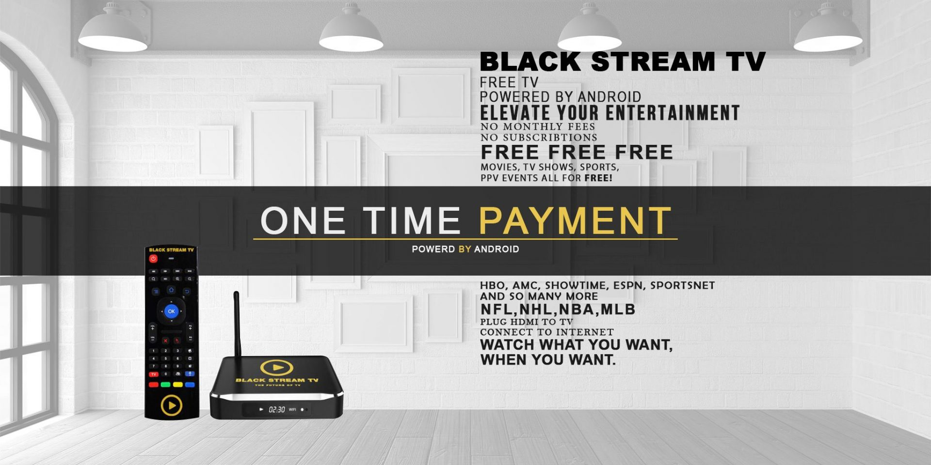 Black Stream TV